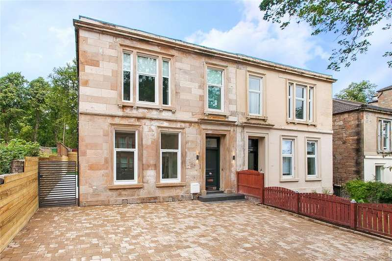 4 Bedrooms Semi Detached House for sale in Laurel Street, Thornwood, Glasgow
