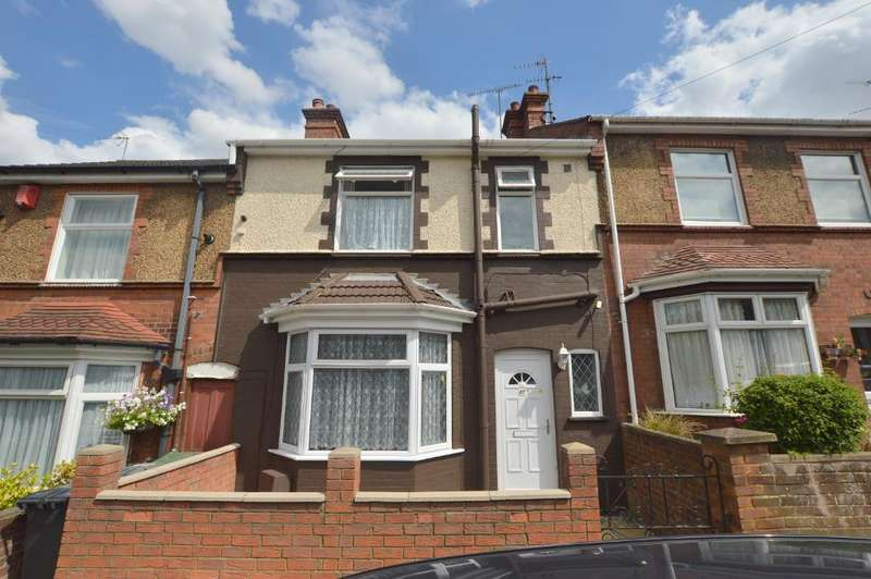 3 Bedrooms Terraced House for sale in Ferndale Road, Luton, Bedfordshire, LU1 1PF