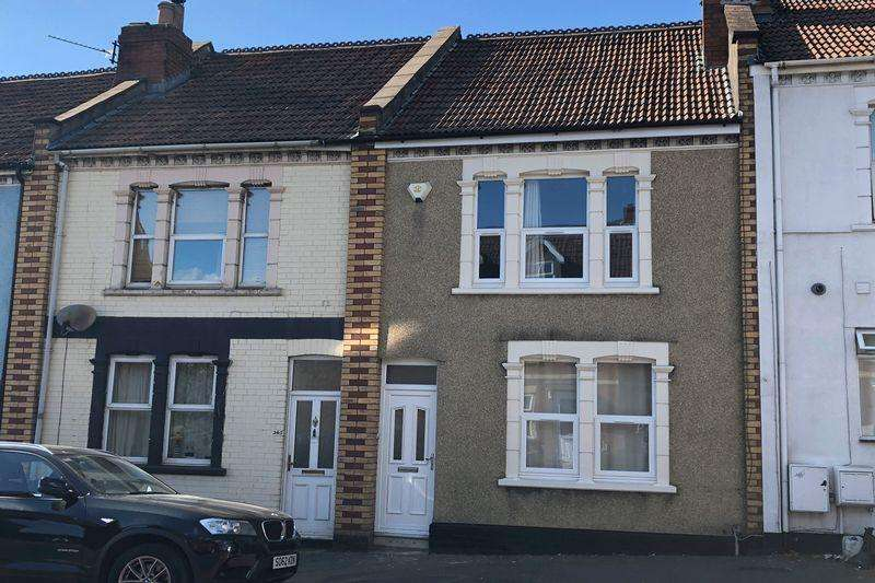 3 Bedrooms Terraced House for sale in Whitehall Road, Bristol