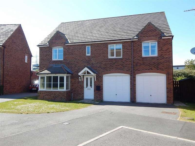 4 Bedrooms Detached House for sale in Heathfield, West Allotment, Newcastle Upon Tyne, NE27