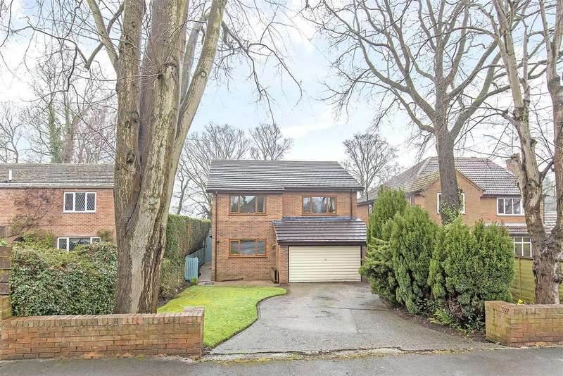 4 Bedrooms Detached House for sale in Yew Tree Drive, Somersall, Chesterfield