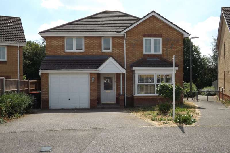 4 Bedrooms Detached House for sale in Farriers Way, Houghton Regis, Dunstable, LU5