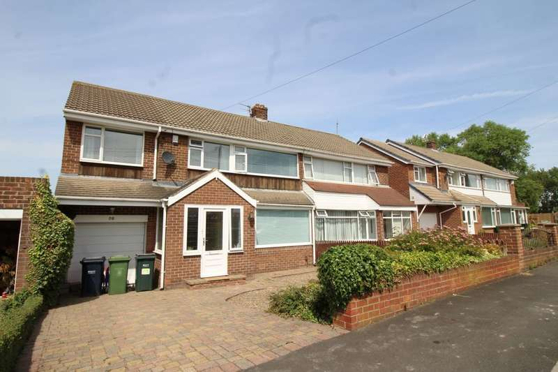 4 Bedrooms Semi Detached House for sale in Marian Drive, Bill Quay, Gateshead, NE10