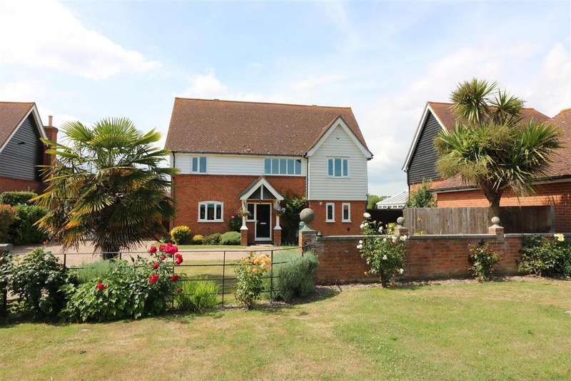 3 Bedrooms Detached House for sale in Beacon Lane, Woodnesborough,