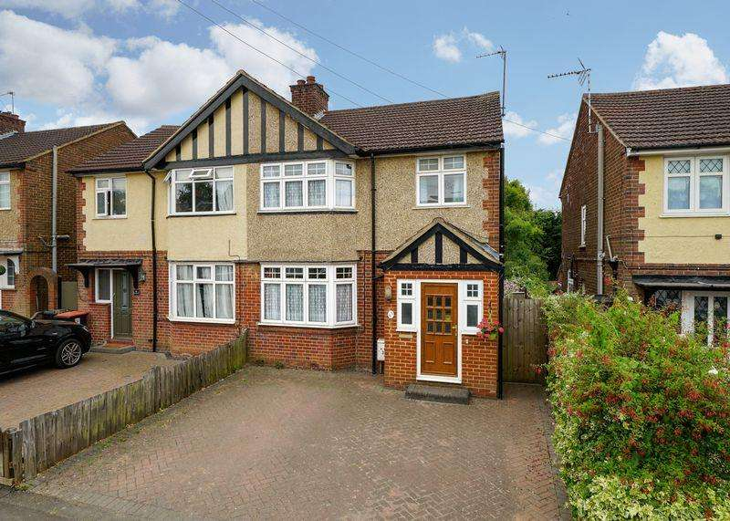 3 Bedrooms Semi Detached House for sale in Front Street, Slip End
