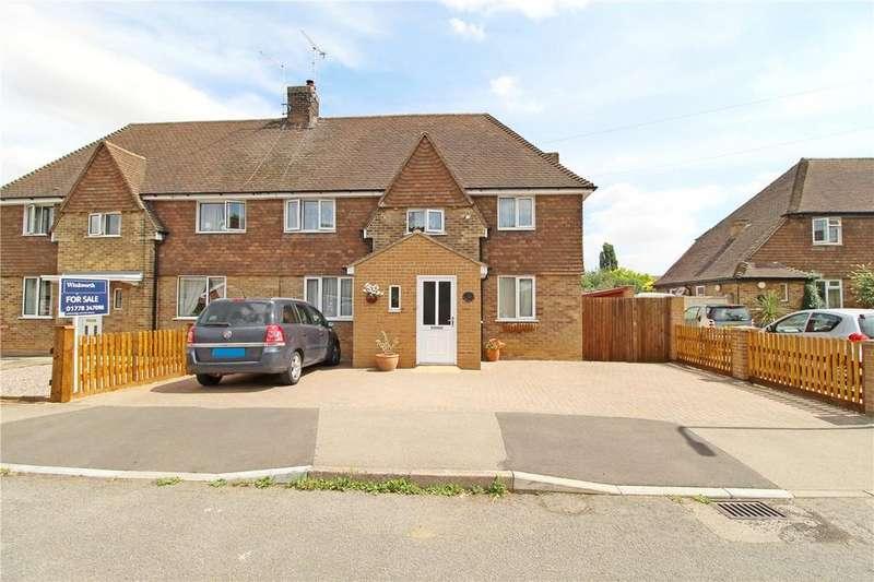 4 Bedrooms Semi Detached House for sale in Park Estate, Deeping St. James, Peterborough, PE6