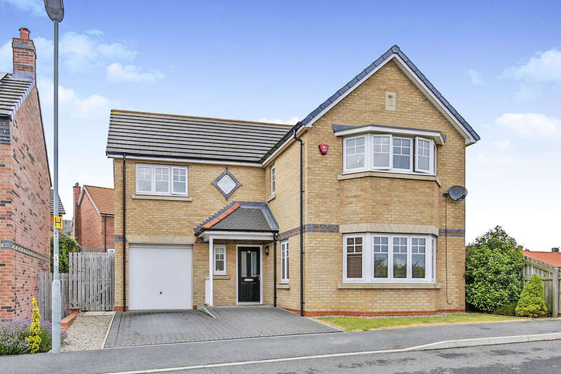 4 Bedrooms Detached House for sale in Crossways Court, Thornley, Durham, DH6