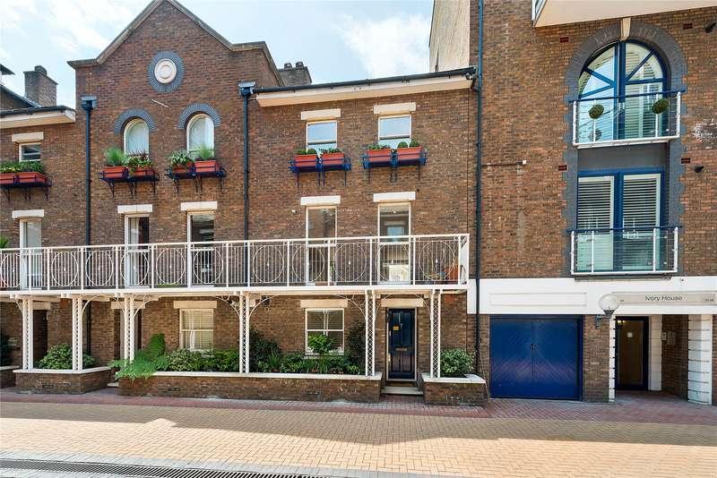 4 Bedrooms Mews House for sale in Plantation Wharf,, York, Wandsworth, London, SW11