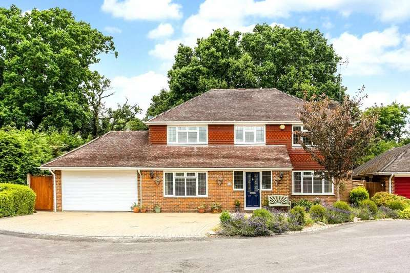 5 Bedrooms Detached House for sale in St Leonard's Avenue, Chineham, Basingstoke, RG24