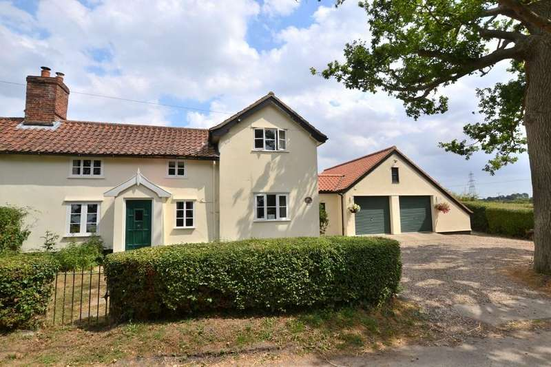 3 Bedrooms Semi Detached House for sale in Mellis Road, Thornham Parva, Suffolk