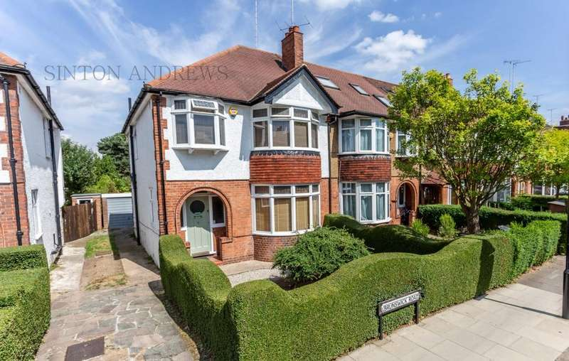 3 Bedrooms House for sale in Brunswick Road, Ealing, W5