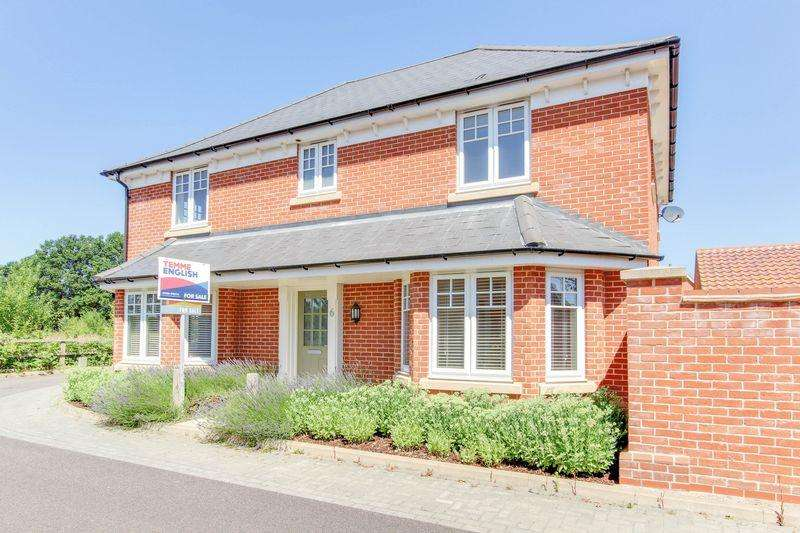4 Bedrooms Detached House for sale in Spartan Close, Gt Horkesley, Colchester