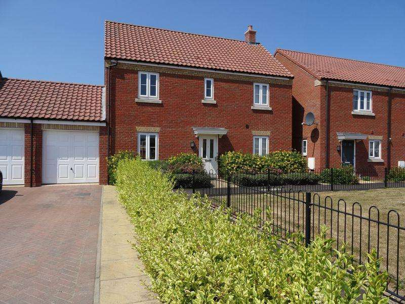 4 Bedrooms Link Detached House for sale in Rhone Walk, Spalding