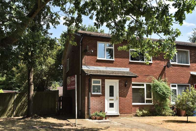 3 Bedrooms End Of Terrace House for sale in Pinefields Close, Crowthorne