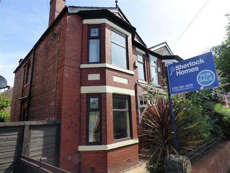 3 Bedrooms Semi Detached House for sale in Nicolas Road, Chorlton