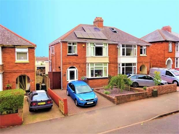 3 Bedrooms Semi Detached House for sale in Hamlin Lane, EXETER, Devon