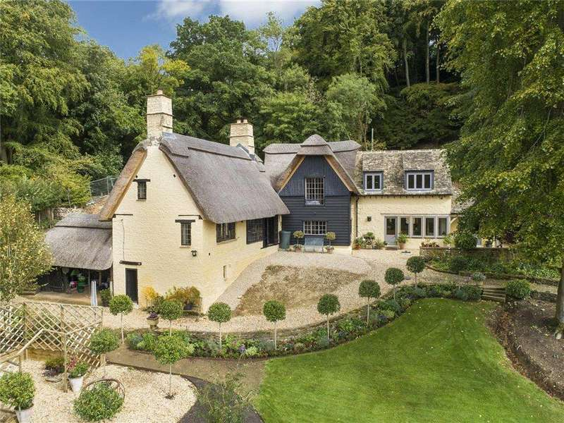 4 Bedrooms Detached House for sale in Tunley, Sapperton, Cirencester, Gloucestershire, GL7
