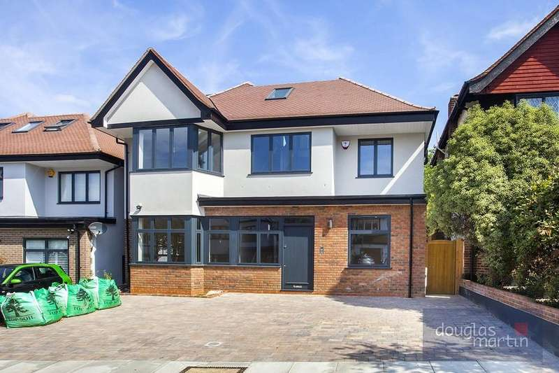 6 Bedrooms Detached House for sale in Vaughan Avenue, London, NW4