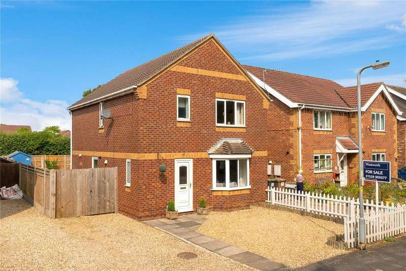 3 Bedrooms Detached House for sale in Elmtree Road, Ruskington, Sleaford, Lincolnshire, NG34