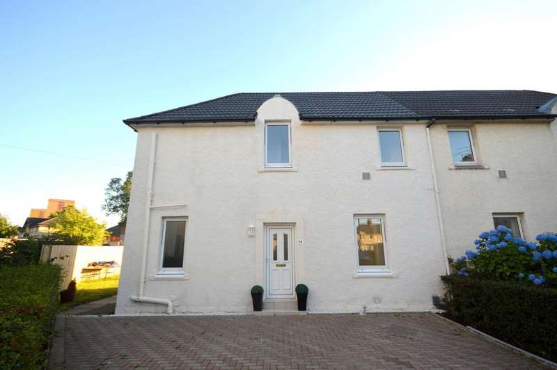 3 Bedrooms Semi Detached House for sale in East Barns Street, Clydebank