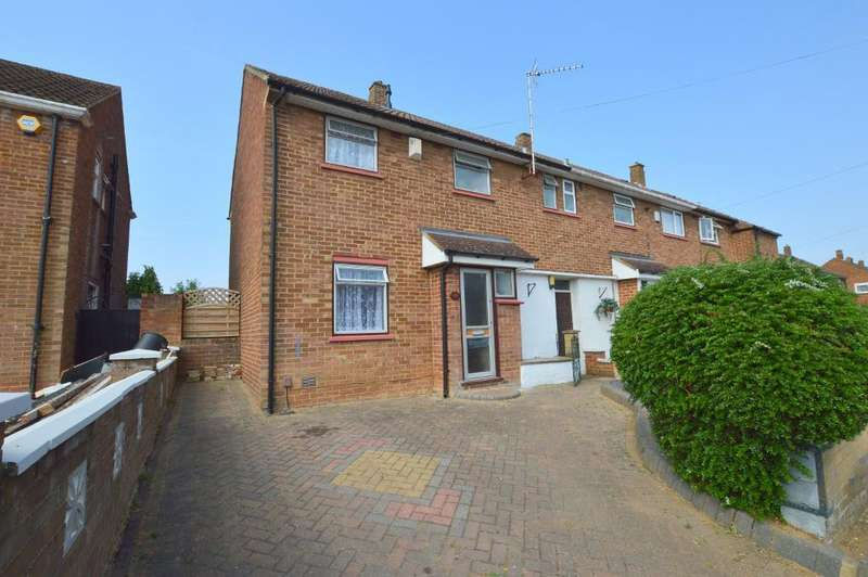 3 Bedrooms End Of Terrace House for sale in Mangrove Road, Stopsley, Luton, LU2 9BW