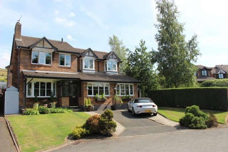5 Bedrooms Detached House for sale in Riverbank Way, Shirebrook, Glossop