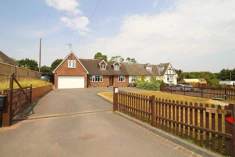 5 Bedrooms Semi Detached Bungalow for sale in Claverhambury Road, Waltham Abbey