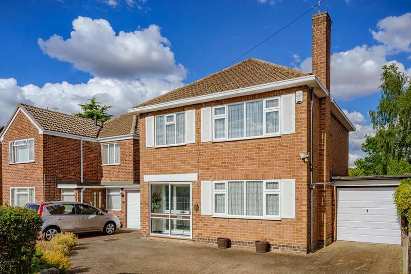 3 Bedrooms Detached House for sale in Arbour Close, Kenilworth