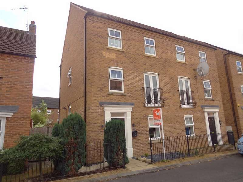 4 Bedrooms Detached House for sale in Lothian Way, Greylees, Sleaford