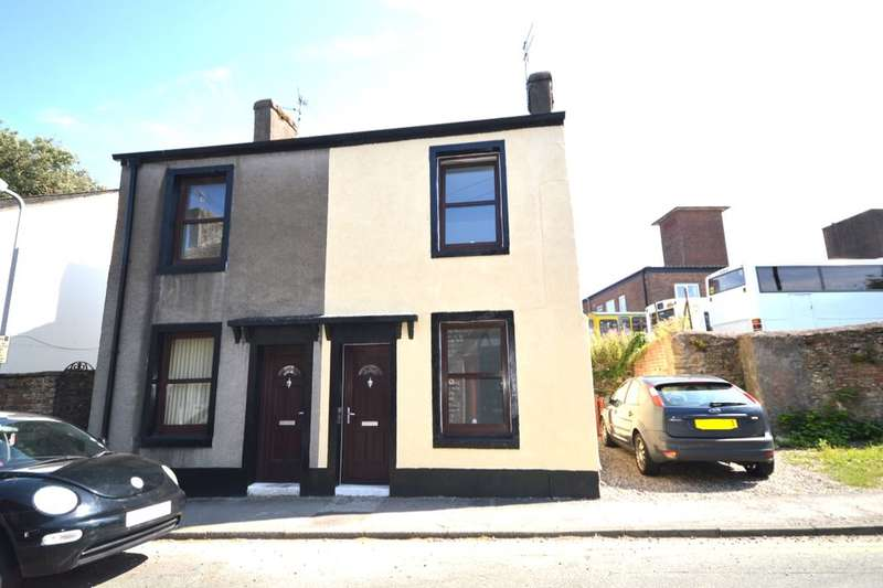 2 Bedrooms Semi Detached House for sale in King Street, Workington, CA14