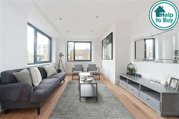 2 Bedrooms Flat for sale in Coldharbour Apartments,, London