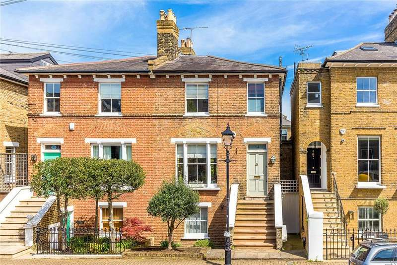 4 Bedrooms Semi Detached House for sale in Spencer Walk, London, SW15