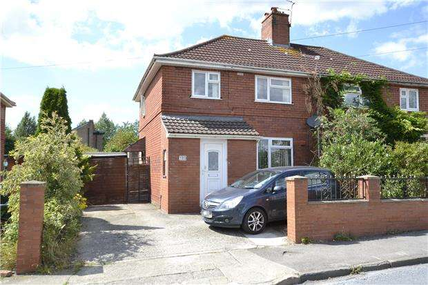 3 Bedrooms Semi Detached House for sale in Wordsworth Road, Horfield, Bristol, BS7 0EH