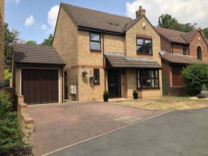 4 Bedrooms Detached House for sale in Lime Croft, Yate, Bristol, Gloucestershire
