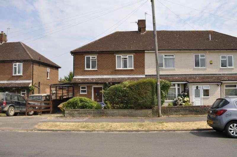 3 Bedrooms Semi Detached House for sale in Cranborne Crescent, Potters Bar, EN6