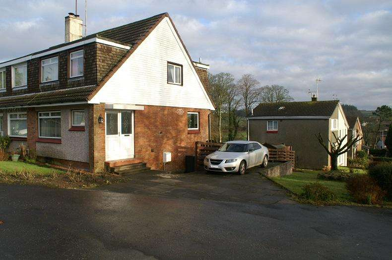 3 Bedrooms Semi Detached House for sale in 2 St. Palladius Terrace, Dalry, KA24 5AX