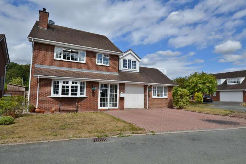 6 Bedrooms Detached House for sale in Jodrell Close, Holmes Chapel