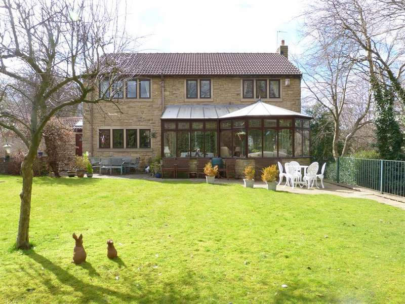 4 Bedrooms Detached House for sale in Bank House, New Close Road, Nab Wood, Shipley, BD18 4AB