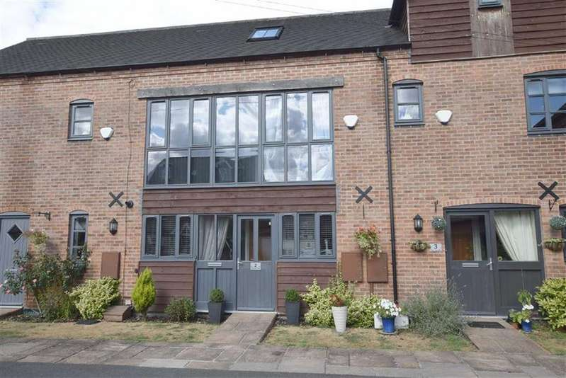 3 Bedrooms Town House for sale in The Courtyard, Burbage, Leicestershire