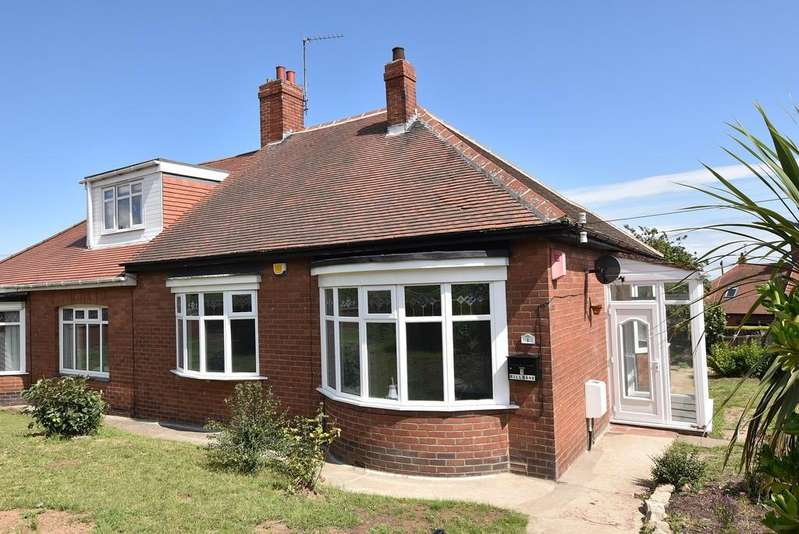 2 Bedrooms Semi Detached Bungalow for sale in Mill Bank, Fulwell