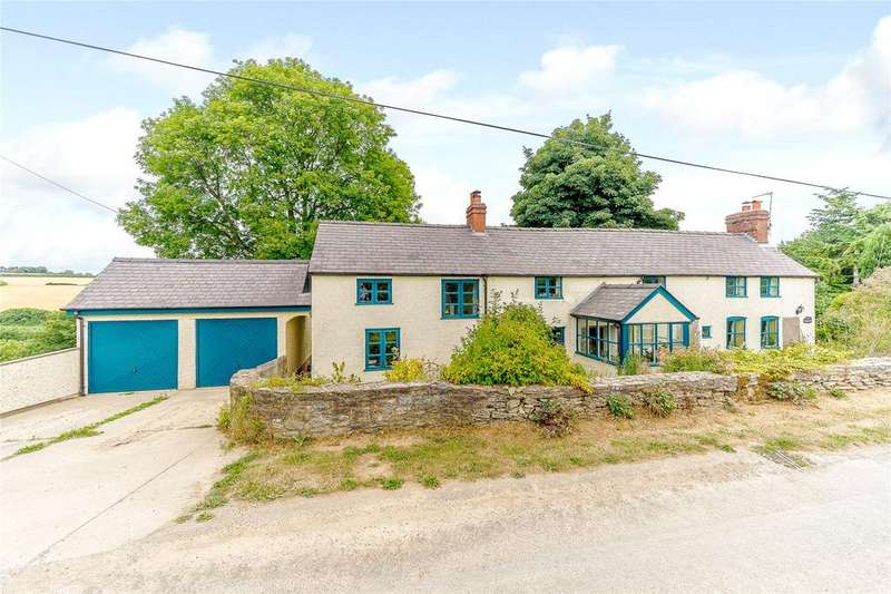 4 Bedrooms Detached House for sale in Brandhill, Onibury, Craven Arms, Shropshire