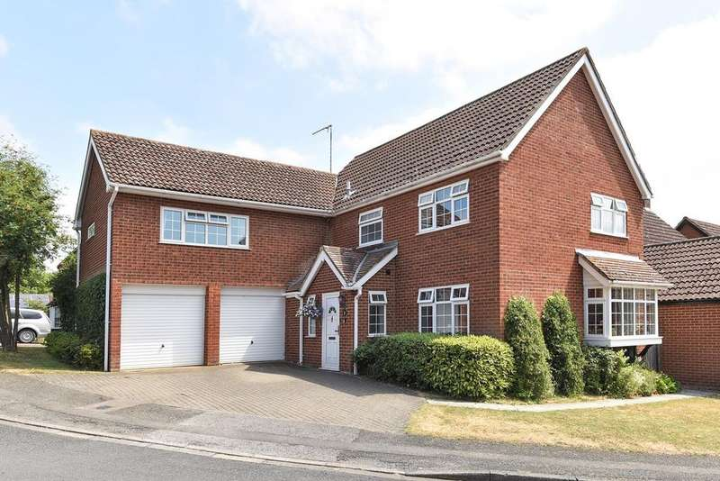 4 Bedrooms Detached House for sale in Sandringham Road, Flitwick, MK45