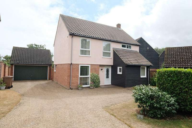 4 Bedrooms Detached House for sale in Pyne Gate, Galleywood, Chelmsford, CM2