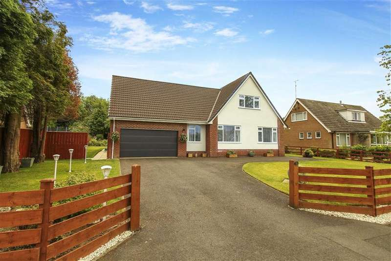 4 Bedrooms Detached House for sale in Errington Road, Ponteland, Northumberland