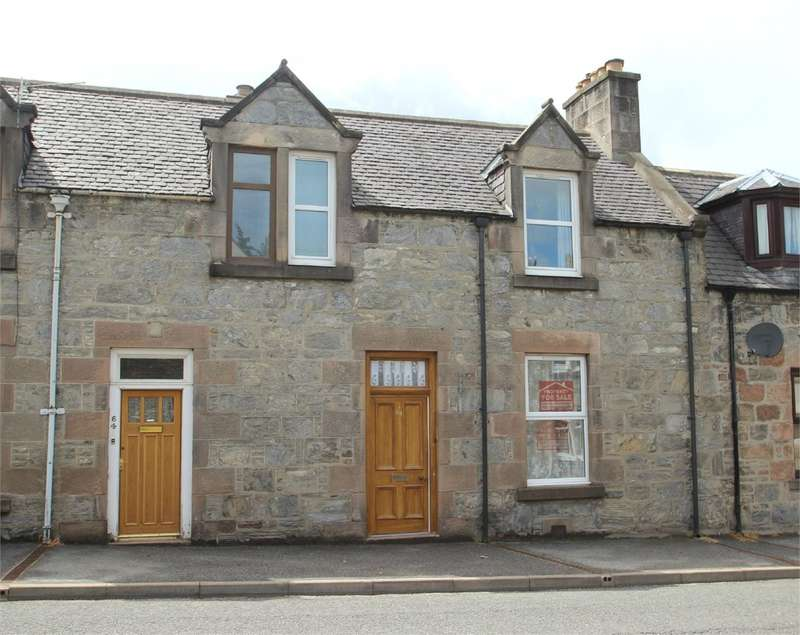 2 Bedrooms Terraced House for sale in Balvenie Street, Dufftown, Keith, AB55