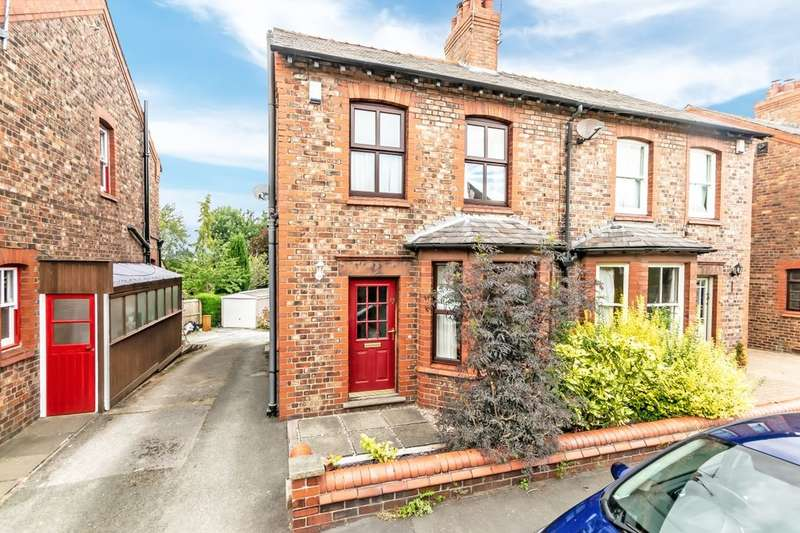 3 Bedrooms Semi Detached House for sale in Townfield Lane, Frodsham, WA6