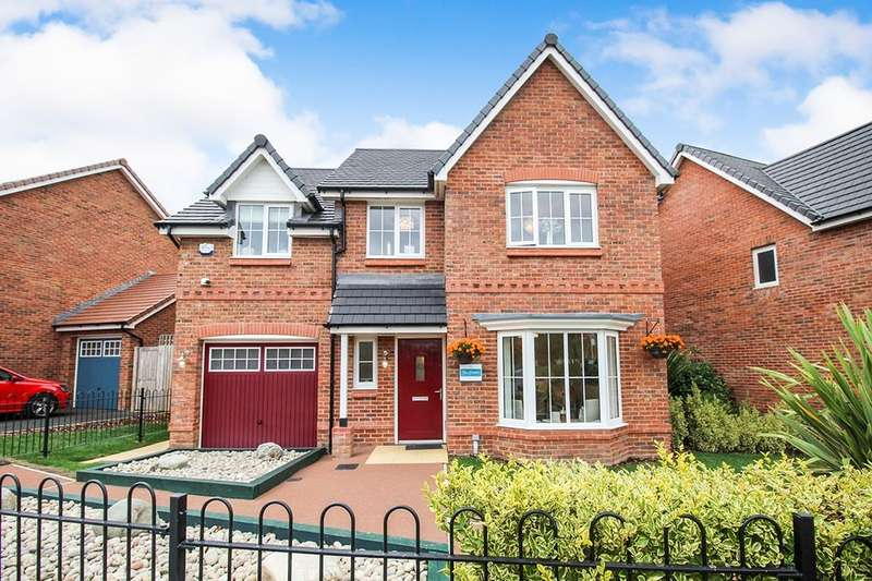 4 Bedrooms Detached House for sale in Glasson Rectory Lane, Standish, Wigan, WN6