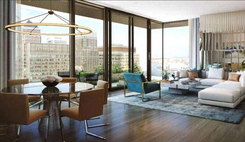 1 Bedroom Flat for sale in Wardian London, Canary Wharf, London, E14