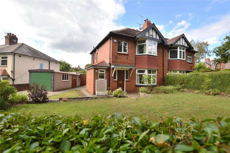 3 Bedrooms Semi Detached House for sale in Stainbeck Road, Leeds, West Yorkshire