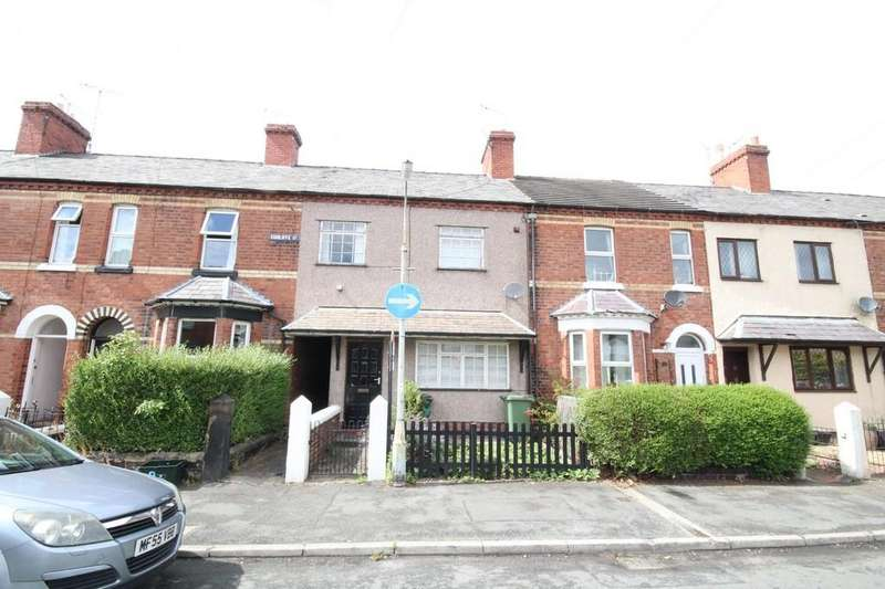 3 Bedrooms Terraced House for sale in Cunliffe Street, Rhosddu
